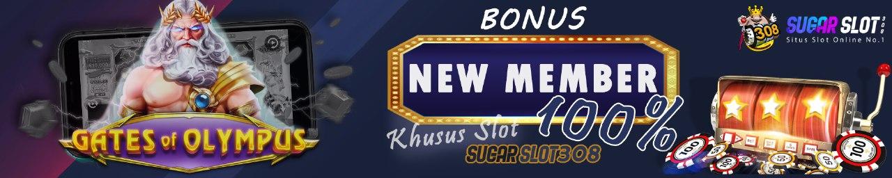 Bonus new member slot online