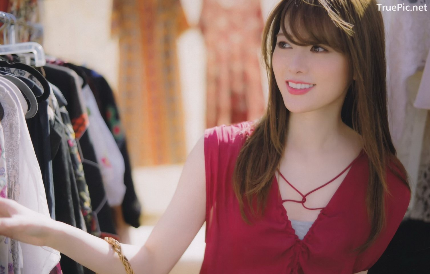 Image Japanese Singer And Model - Mai Shiraishi - Charming Beauty Of Angel - TruePic.net - Picture-1