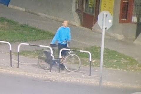 Ezt a biciklitolvajt keresik a kaposvári rendőrök