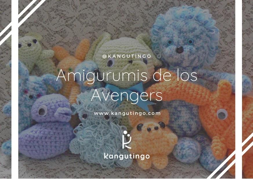 Amigurumis de Avengers