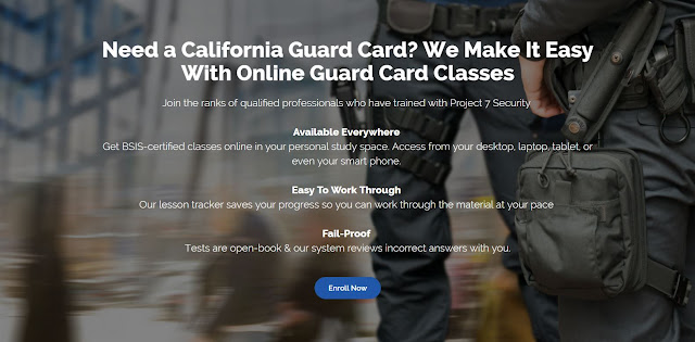 Online Certification Services (OCS) a leader in Online Law Enforcement and Security training in California
