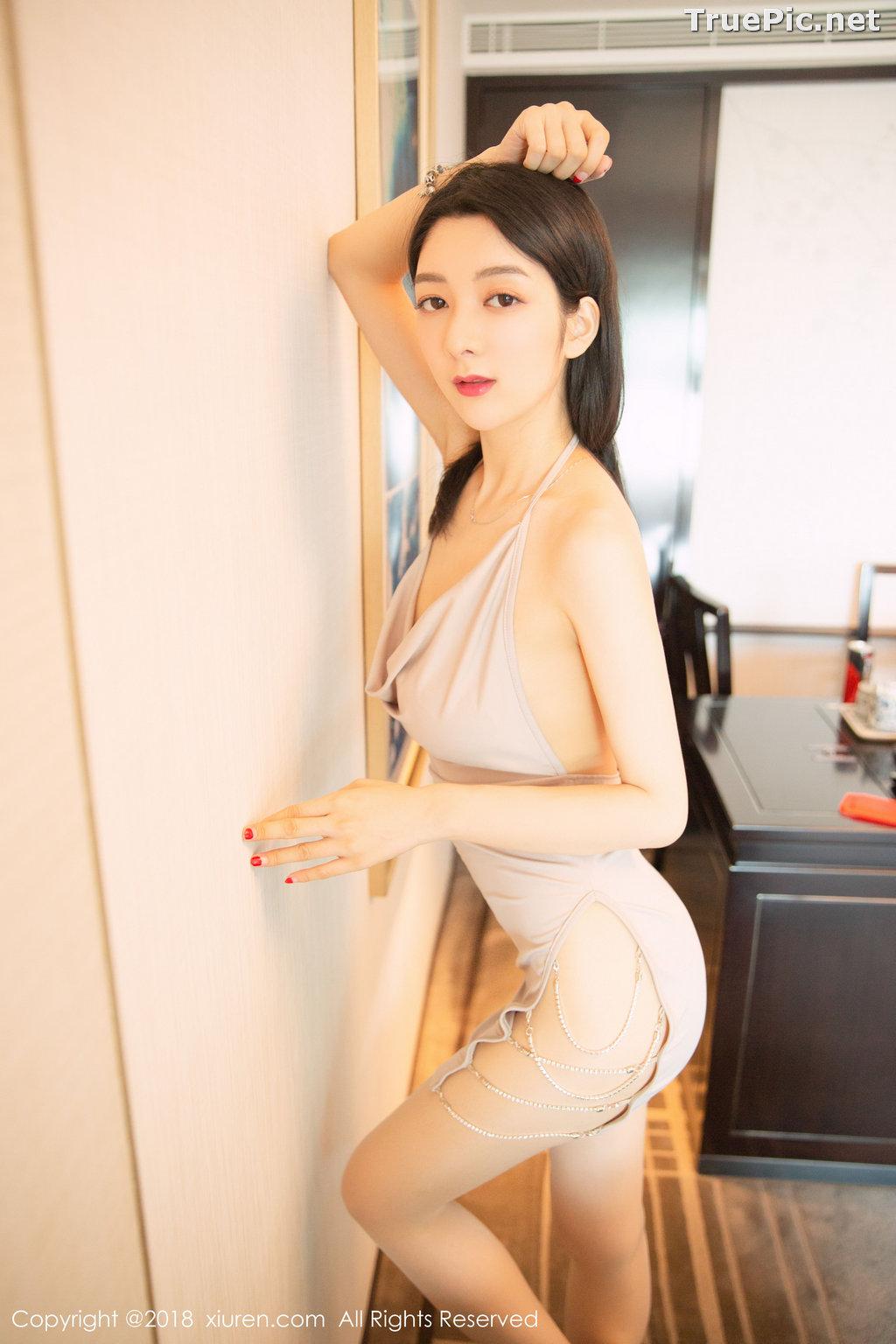 Image XIUREN No.1141 - Chinese Model - Xiao Reba (Angela小热巴) - Sexy Dress Tonight - TruePic.net - Picture-15