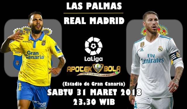 Prediksi Las Palmas vs Real Madrid 31 Maret 2018