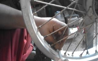 Gambar setel rim motor