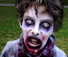 Happy Halloween Zombie Costumes Make Up Ideas For Men