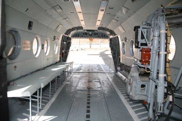 Mil Mi-8AMT interior
