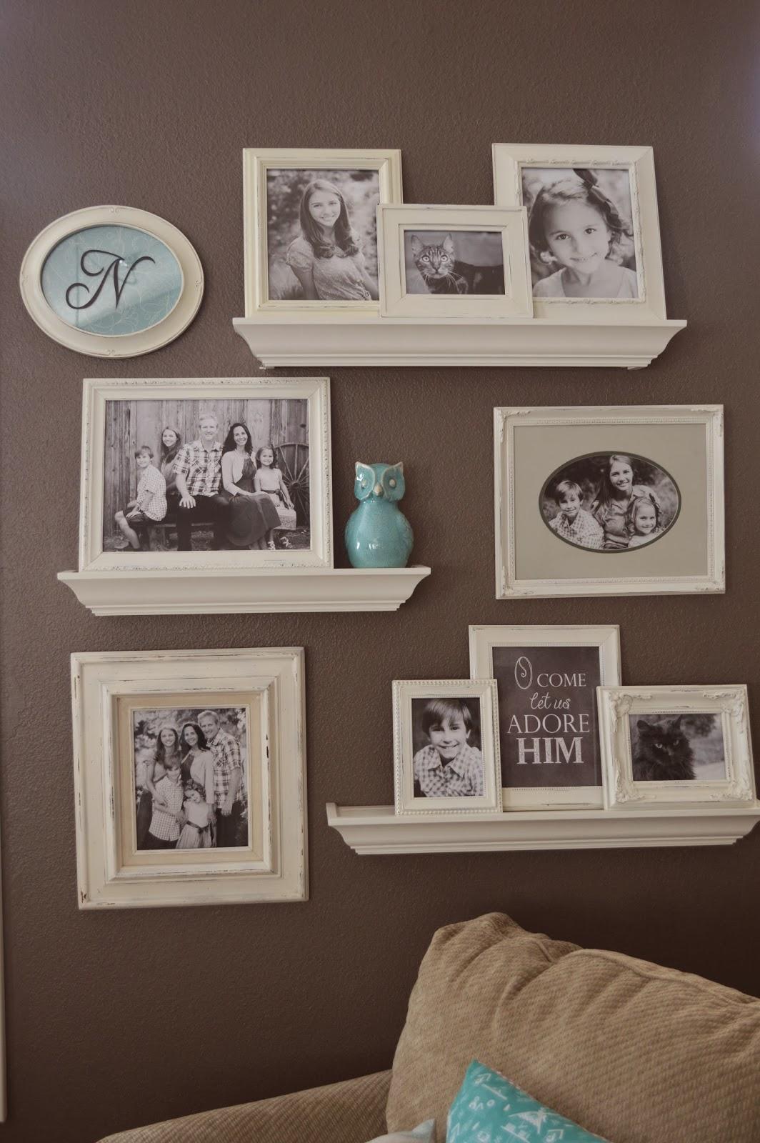 jedi craft girl gallery wall update