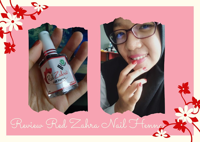 review red zahra nail henna kutek halal