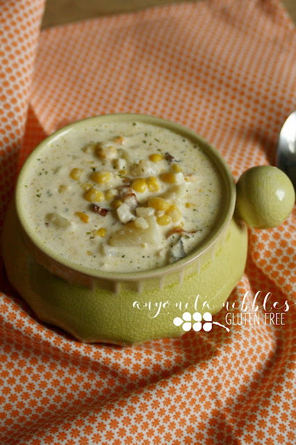 Burns Night Gluten Free Smoked Haddock and Bacon Chowder | Anyonita Nibbles Gluten Free