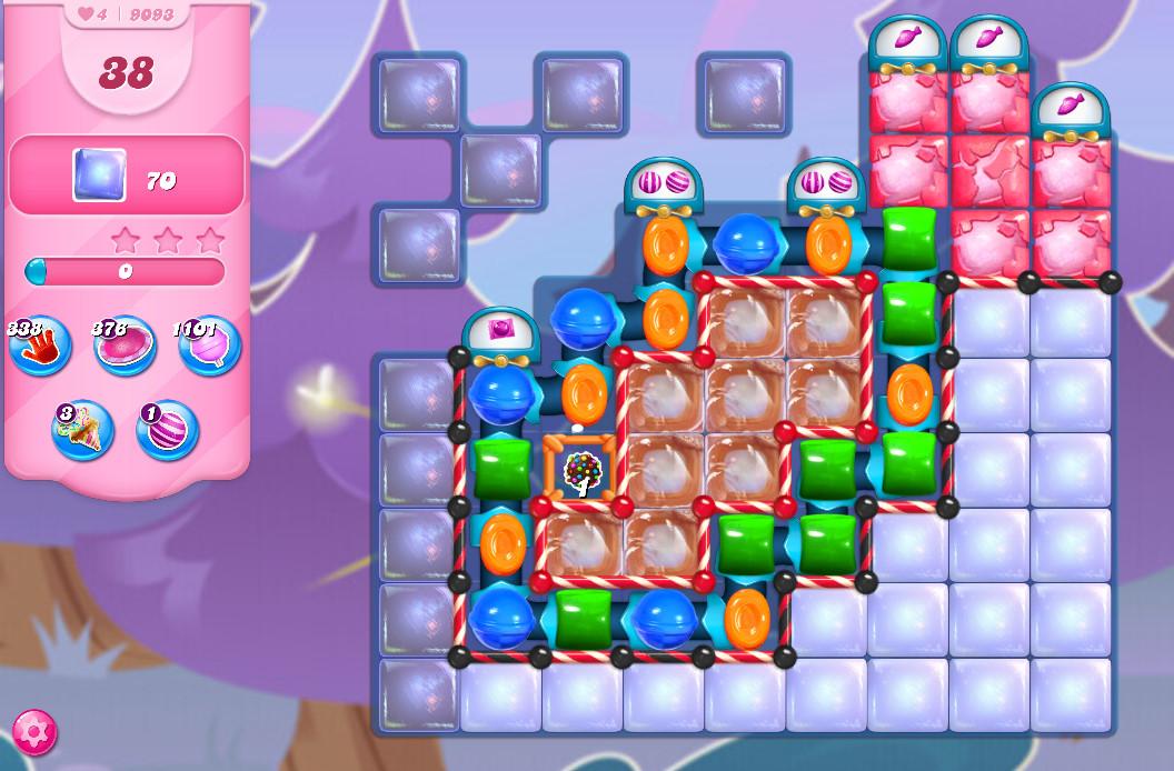 Candy Crush Saga level 9093