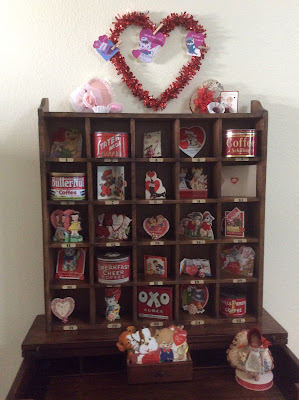 Valentine Vignette and Recycled Heart Box Collection, a host favorite at Funtastic Friday!