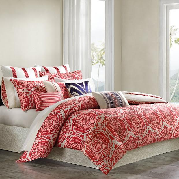 Coral Colored Bedding - Home Design Ideas