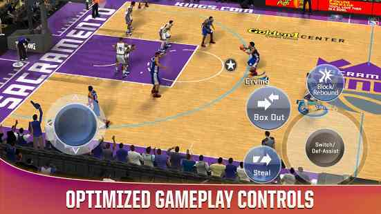 تحميل لعبة كرة السلة nba 2k20 Apk Mod للاندرويد اخر اصدار مجانا