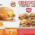 超级省钱的好康! Burger King 推出省钱固本,让你更省钱吃汉堡大餐!