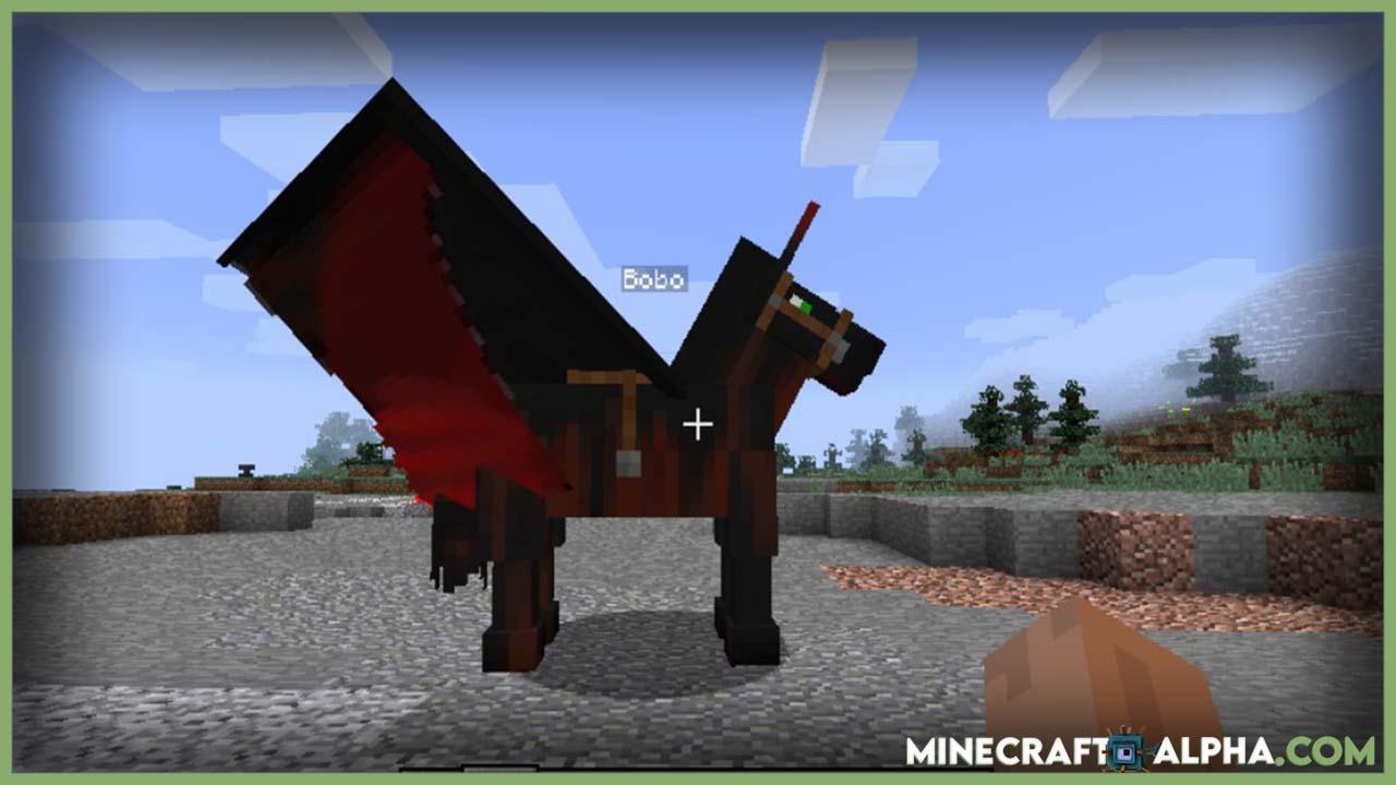 Minecraft Ultimate Unicorn Mod 1.16.5/1.15.2 (Flying Flaming Horses)
