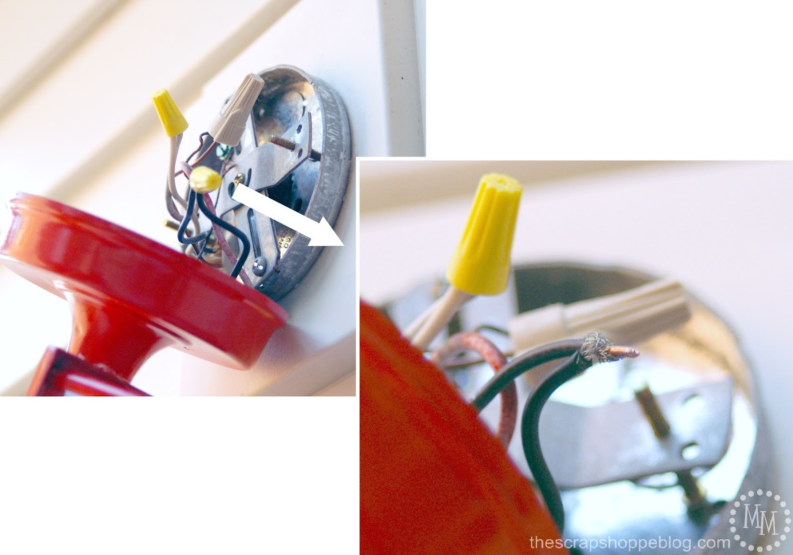 Wiring A Light Fixture To A Dimmer Switch Along With 6 Light Candle