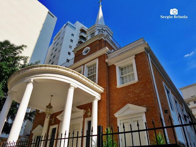Vista da Igreja de Nossa Senhora Mãe da Igreja - Jardim Paulista - São Paulo