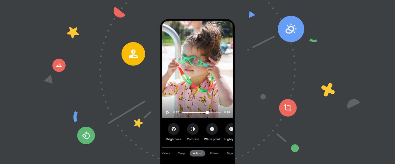 Editor video migliorato e funzionalità avanzate su Google Foto