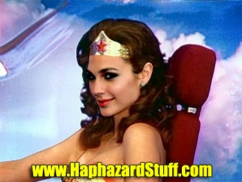 Gal Gado as Wonder Woman first picture photo image costume Dawn of Justice
