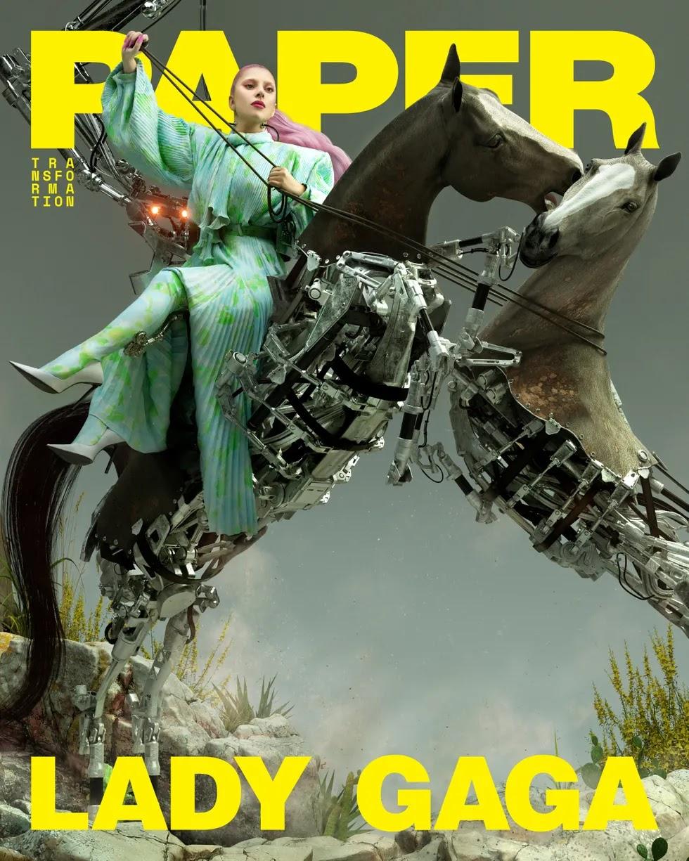 Lady Gaga for Paper Magazine April 2020