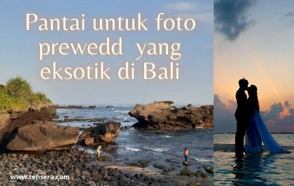 4 Pantai Pasir Hitam ini Layak untuk Lokasi Prewedding di Bali