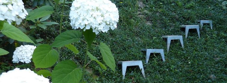 Teppenstufen für den Garten - Hangstufen