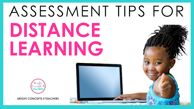 assessment tips for distance learning