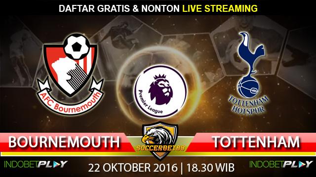 Prediksi Bournemouth vs Tottenham 22 Oktober 2016 (Liga Inggris)