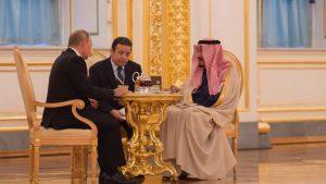 Δολάριο, η μάχη της Σαουδικής Αραβίας