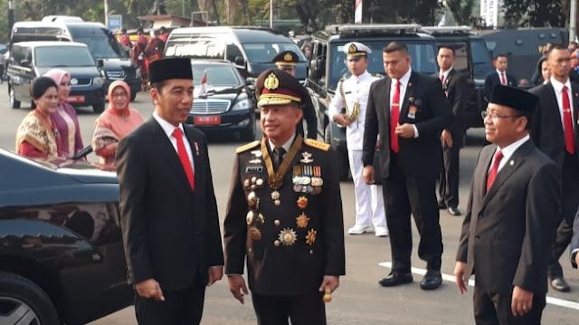 hut bhayangkara, polri, jokowi, indonesia