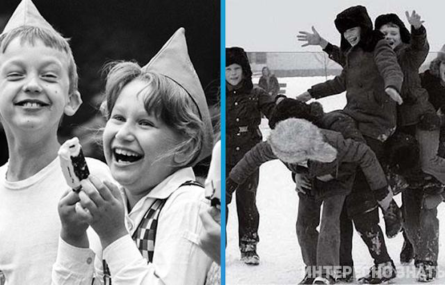 Советское детство, о котором мы вспоминаем с нежностью и грустью