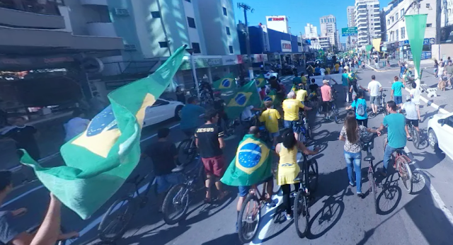Manifestações em Itapema 2018