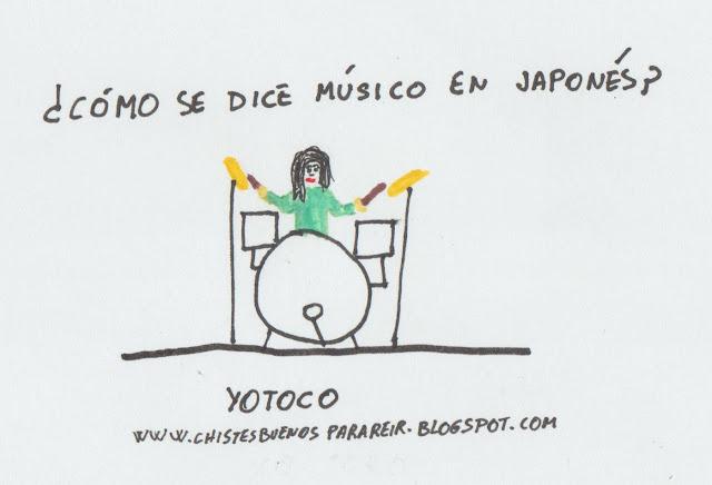 ¿Cómo se dice músico en japonés? Yotoco