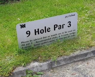 Par 3 Golf course at Clarkes Golf Centre in Rainford