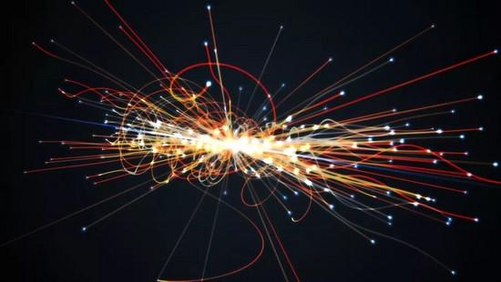 Strano schema trovato all'interno del più grande frantumatore di atomi del mondo