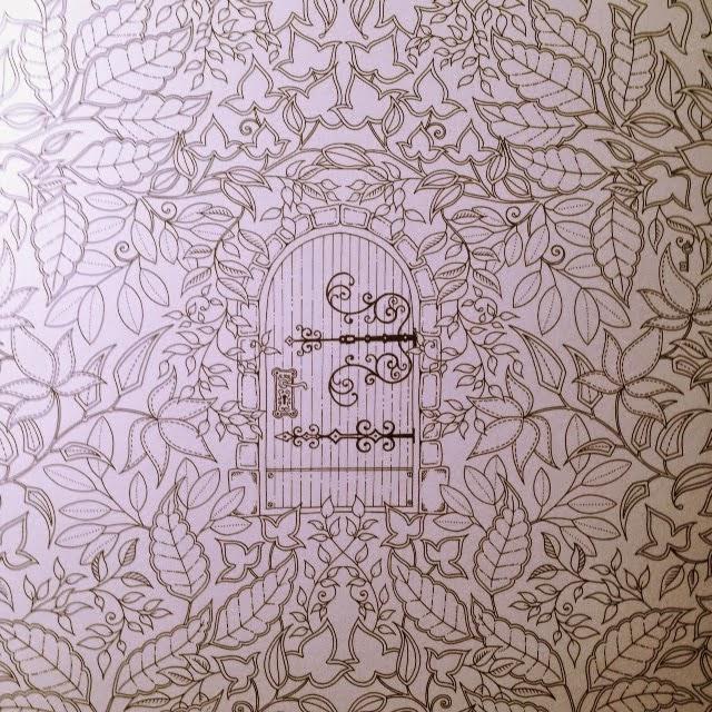 Passion for Pencils: My Secret Garden colouring book, part 1