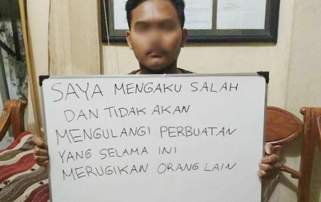 Polisi Geledah Kamar Kos Gilang Terduga Pelaku Fetish Kain Jarik