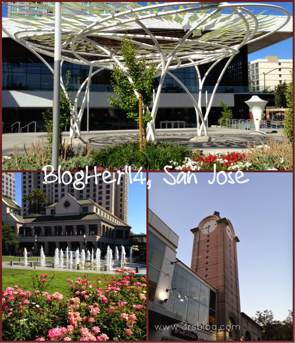 San Jose Convention Center area collage BlogHer14 The 3Rs Blog