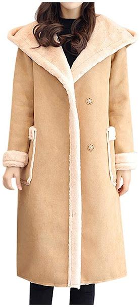 Long Faux Fur Coats Jackets for Women