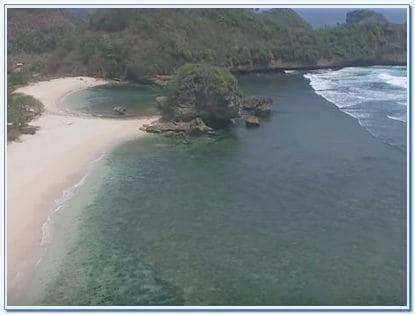 Lokasi Pantai Goa Cina Malang