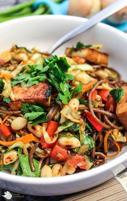 Gemüsepfanne asiatisch