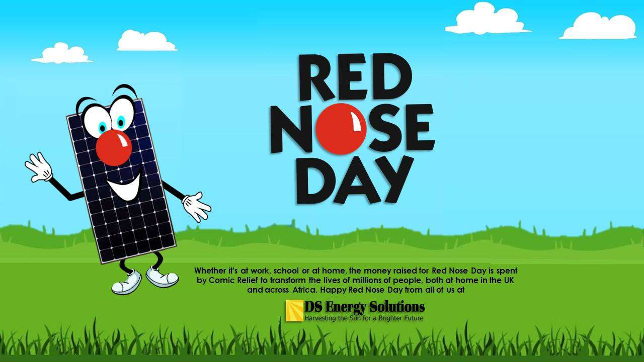 Red Nose Day Wishes Beautiful Image
