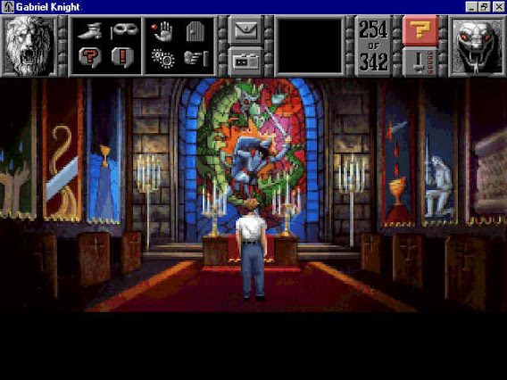 Gabriel Knight: Sins of the Fathers ScreenShot 02