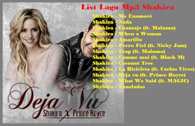 Download Music Mp3: Download Lagu Shakira Deja vu (ft