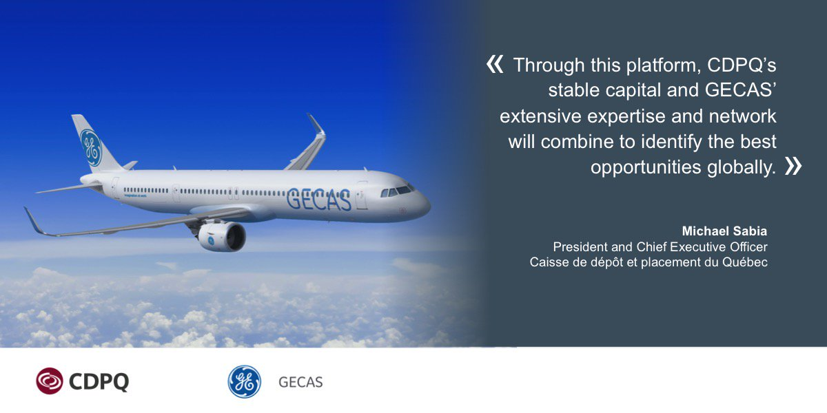 Caisse Enters Aircraft Leasing Business?