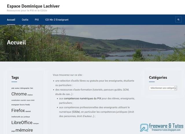 Le site du jour : L'Espace Dominique Lachiver