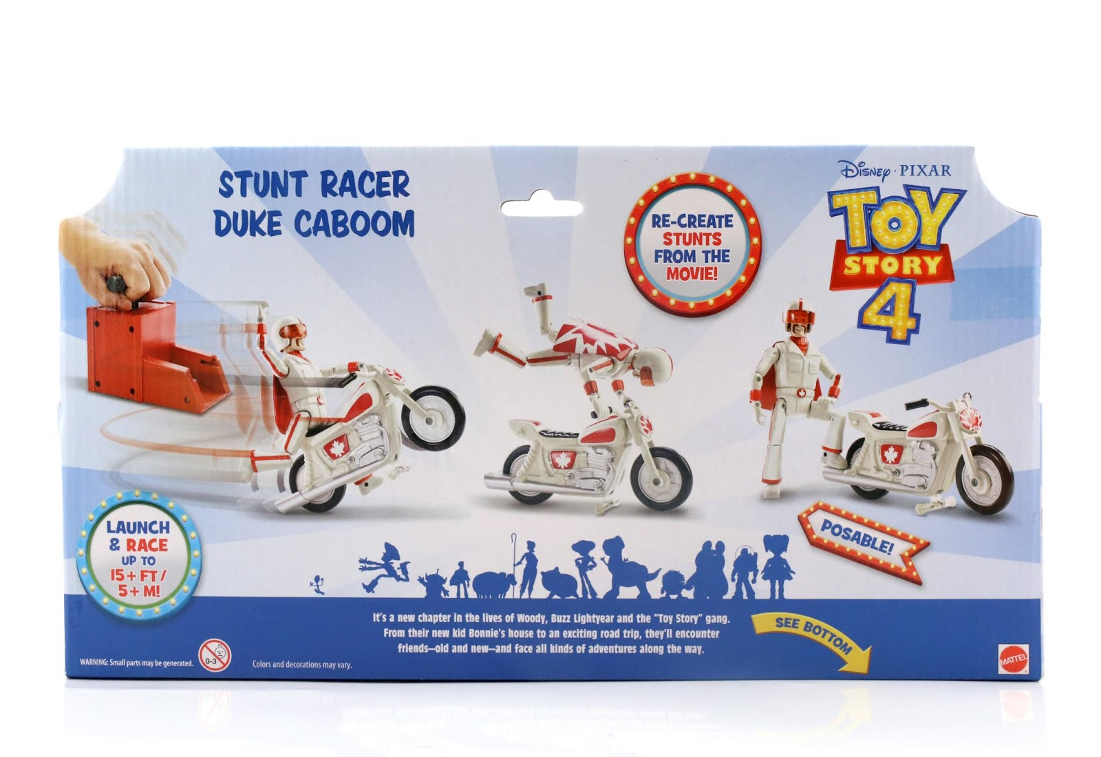 toy story 4 duke with stunt racer
