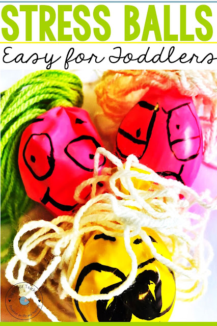 Looking for an easy way to create stress balloons? We recently created these which I thought would be perfect as a project to do with the kids! These DIY Stress Balloons Easy for Toddlers are a great way to engage little ones and even if they're feeling a little stressed, this is a great way to relieve that stress.