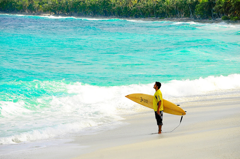 Due to events around the world, surfing has attracted new surfers