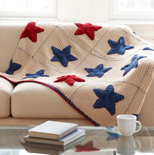 Americana Afghan - Free Crochet Pattern